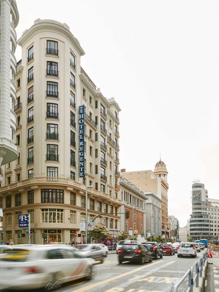 Hotel Regente desde Gran Vía